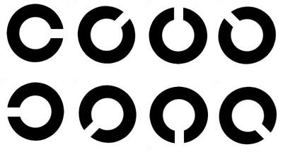 1888年 - 发明Landolt视力表(C字视力表)
